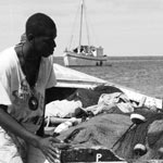 Fishermen, Nevis, West Indies
